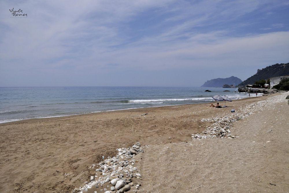 beach of agios gordios